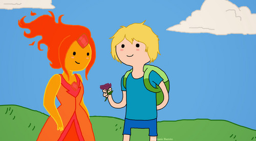 Adventure Time With Finn and Jake wolpeyper containing anime entitled bulaklak For You