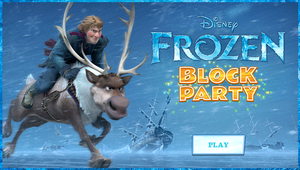 Frozen Block Party Game