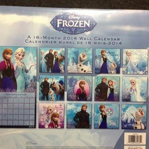 Frozen Calendar