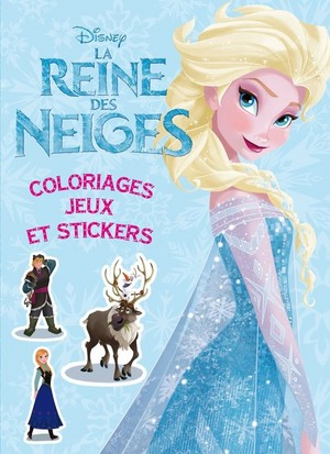 Frozen French book covers