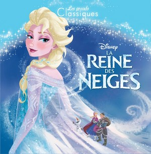 《冰雪奇缘》 French book covers