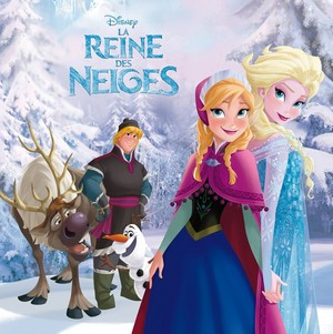 La Reine des Neiges French book covers