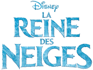 La Reine des Neiges French Logo