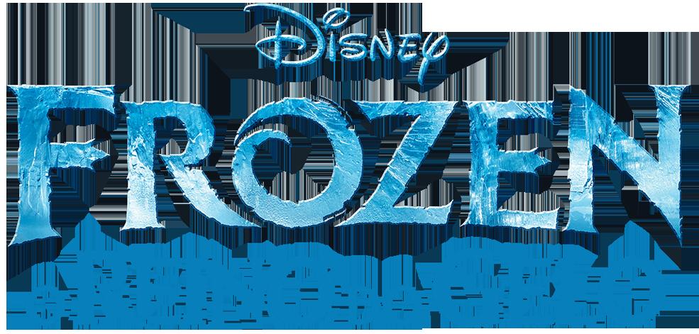 《冰雪奇缘》 Portuguese Logo