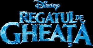 Frozen Romanian Logo