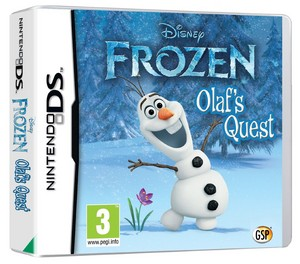 Frozen Olaf's Quest Video Game