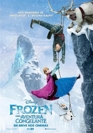《冰雪奇缘》 Poster