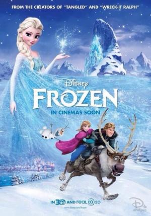 アナと雪の女王 Poster