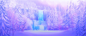 Frozen Scenery