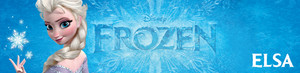 Frozen UK Disney Store Banners