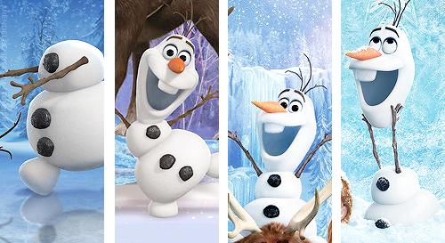 Olaf frozen photo