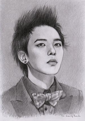 G-Dragon Drawing