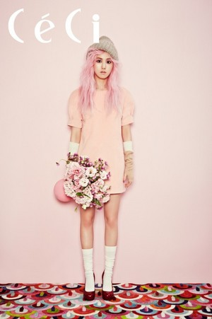 Gayoon for 'CeCi'