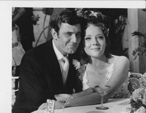 George Lazenby & Diana Rigg - James Bond