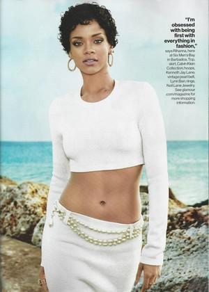 Glamour magazine scans