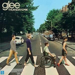Glee - Season 5 - Iconic Beatles Album Covers