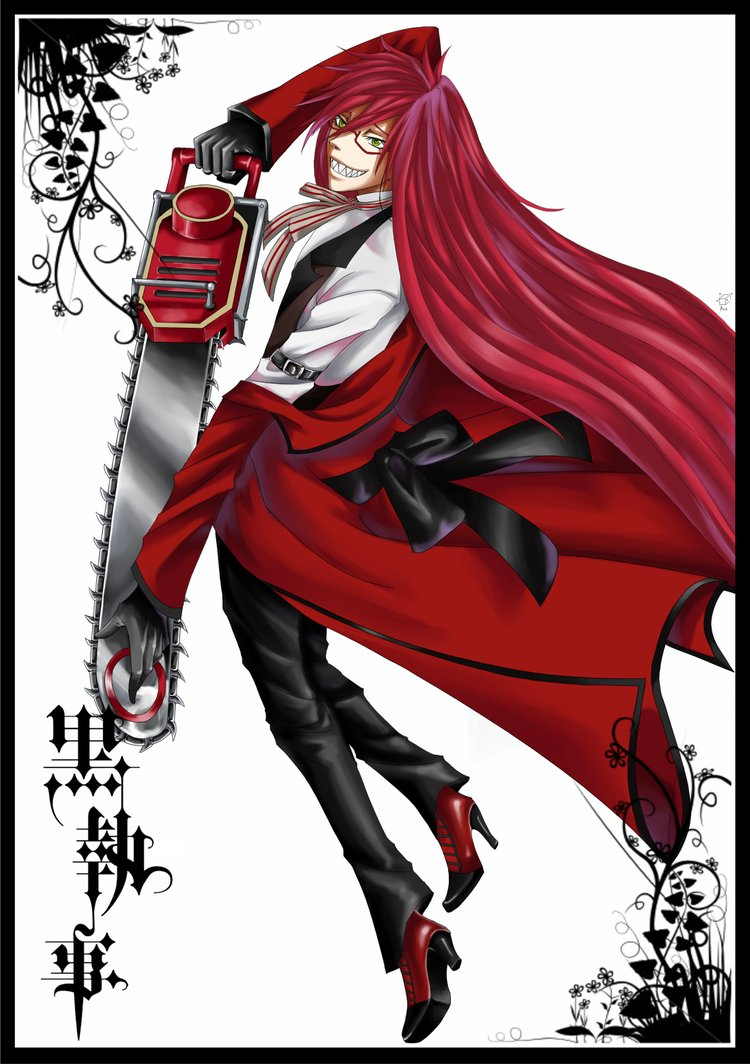 Grell Sutcliff - Grell Sutcliffe Photo (35626593) - Fanpop