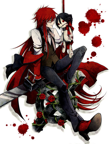 how to draw grell sutcliff chibi