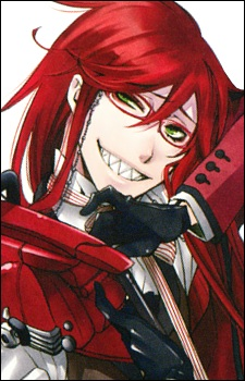 Kuroshitsuji achtergrond containing anime titled Grell Sutcliff