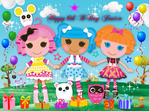 Lalaloopsy wallpaper entitled Happy 6th B-Day Jessica