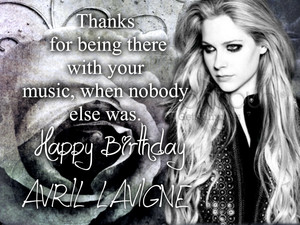 Happy Birthday Avril Lavigne