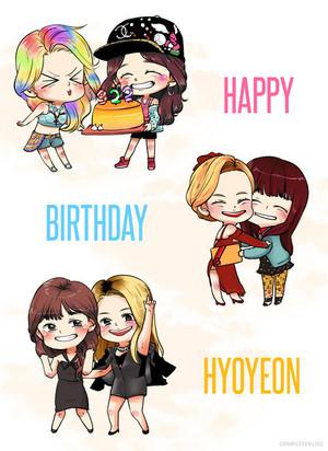 Happy Birthday Hyoyeon