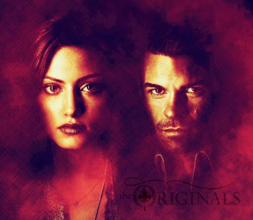 The Originals پیپر وال entitled Hayley x Elijah