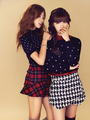 Hayoung & Eunji (A Pink) - Campus 10 Magazine September Issue '13 - korea-girls-group-a-pink photo