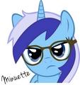Hipster Colgate? - my-little-pony-friendship-is-magic fan art