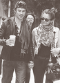Holding Hands - ian-somerhalder-and-nina-dobrev photo