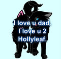 Hollyleaf and her father.