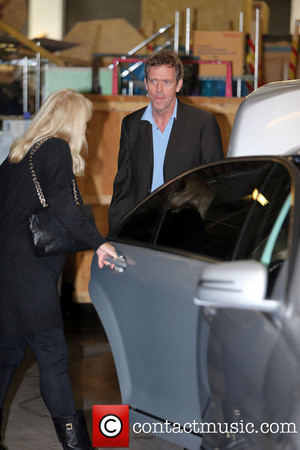 Hugh Laurie near the ITV studios - 24 Sep 2013