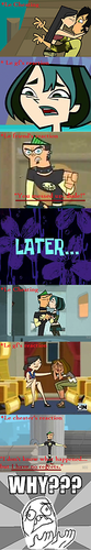 Total Drama All-Stars photo probably with a le dîner, salle à manger and a sign titled I didn't notice this 0.0