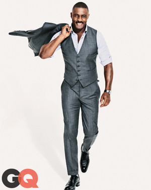 Idris Elba   GQ Magazine   October 2013