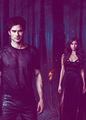 Is this gonna be hype I can feel the life Are we in the darkness? - damon-and-katherine fan art