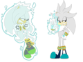 It's no use, Steel. - silver-the-hedgehog photo
