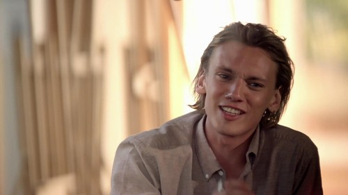 Jamie Campbell Bower wallpaper containing a portrait titled Jamie Campbell Bower - YourTurnBritain | Jaguar