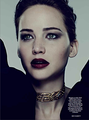 Jennifer Lawrence covers the November issue of Harper's Bazaar UK - jennifer-lawrence photo