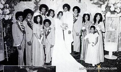 Jermaine's Wedding Back In 1973