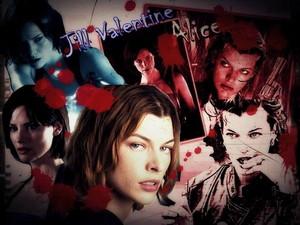 Jill Valentine & Alice