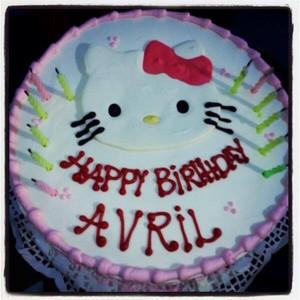 Hello Kitty Cake - Avril's Birthday