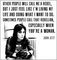 Joan Jett - feminism photo