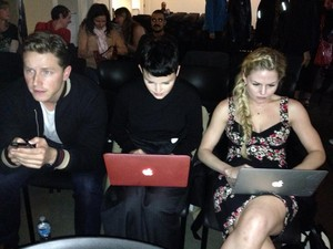 Josh, Ginny and JMo - OUAT Season 3 Premiere Party
