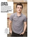 "Josh Hutcherson Glamour Magazine Tablet Exclusive ""Tips for Pulling Off Perfect Pranks"""