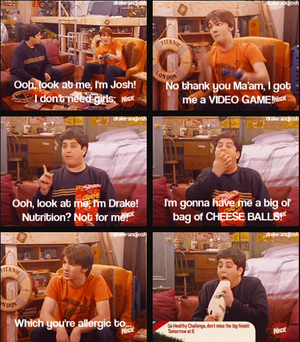 Josh trying to impersonate mannetjeseend, drake