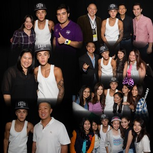 Justin Bieber Meet & Greet in Bangkok , 2013