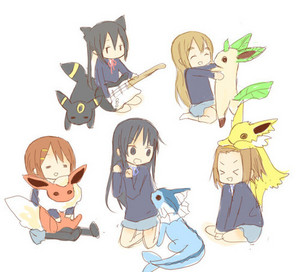 K-On and Pokemon