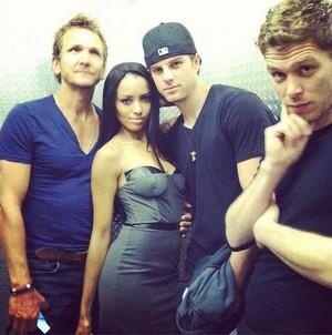 Kat + the original boys