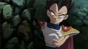 Kid Vegeta in * Battle Of Gods *
