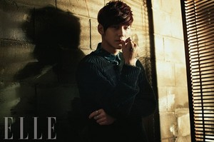 Kim Kang Woo & Kim Bum – ELLE Korea March 2013